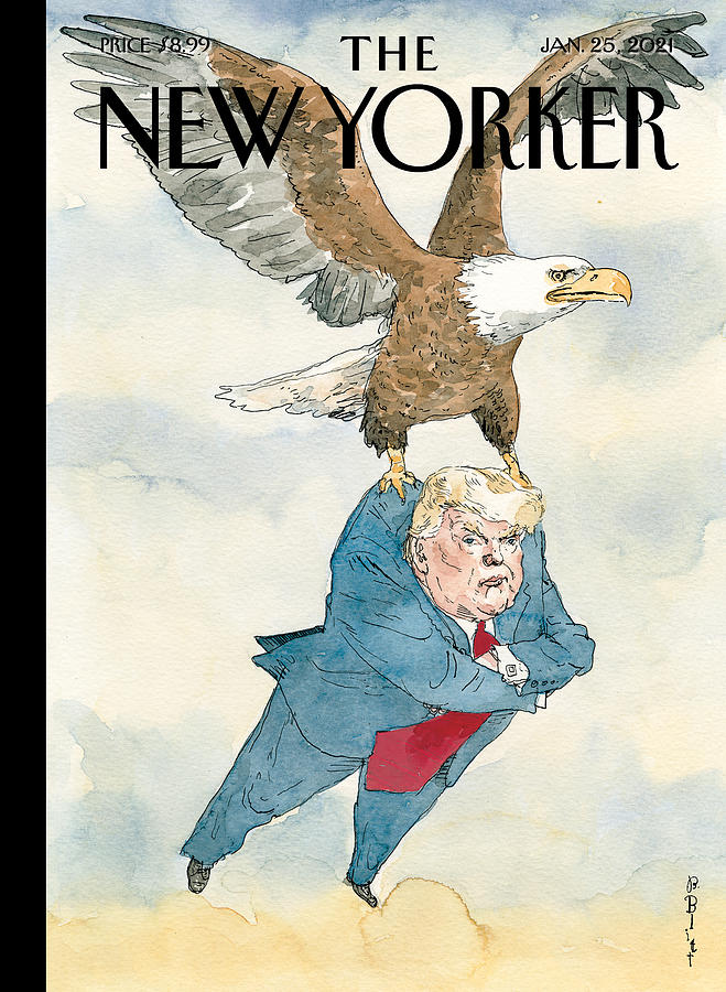 A Weight Lifted Painting by Barry Blitt