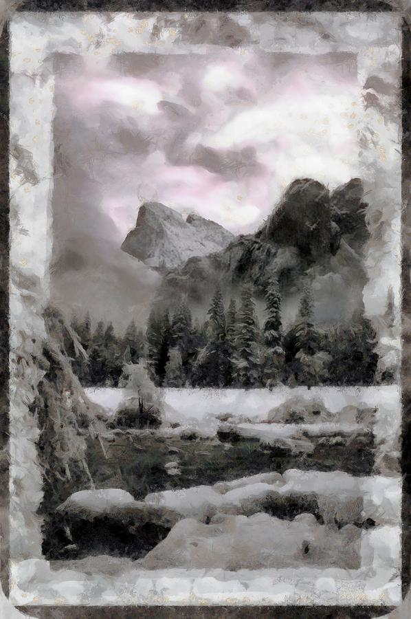 A Yosemite Winter by Mario Carini