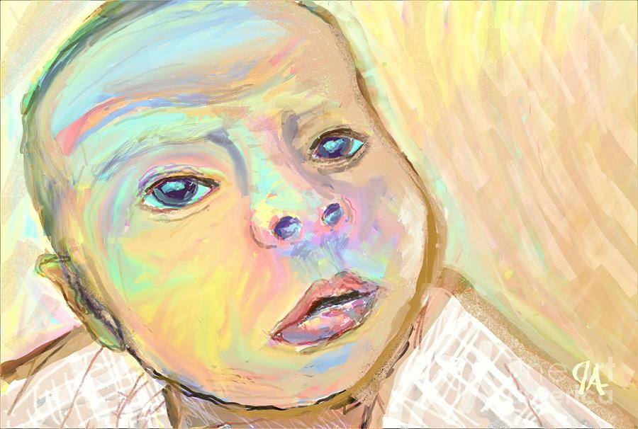 A young gaze staring back at you by Jeremy Aiyadurai