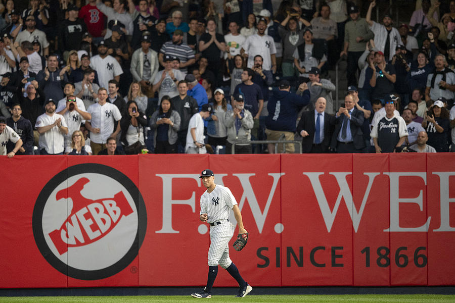 Aaron Judge Photograph by Billie Weiss/Boston Red Sox