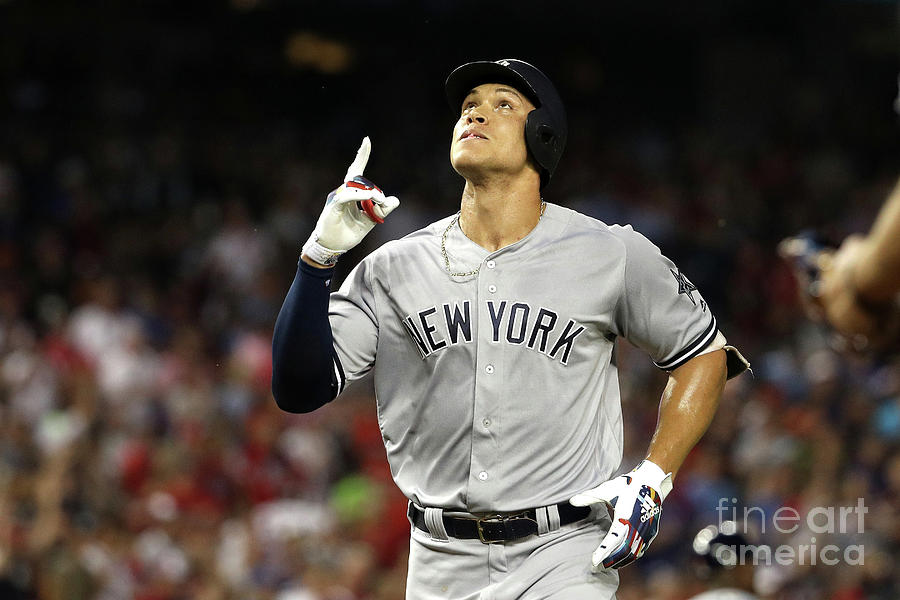 Aaron Judge Photograph by Patrick Smith