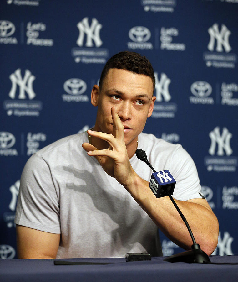 Aaron Judge Photograph by Paul Bereswill