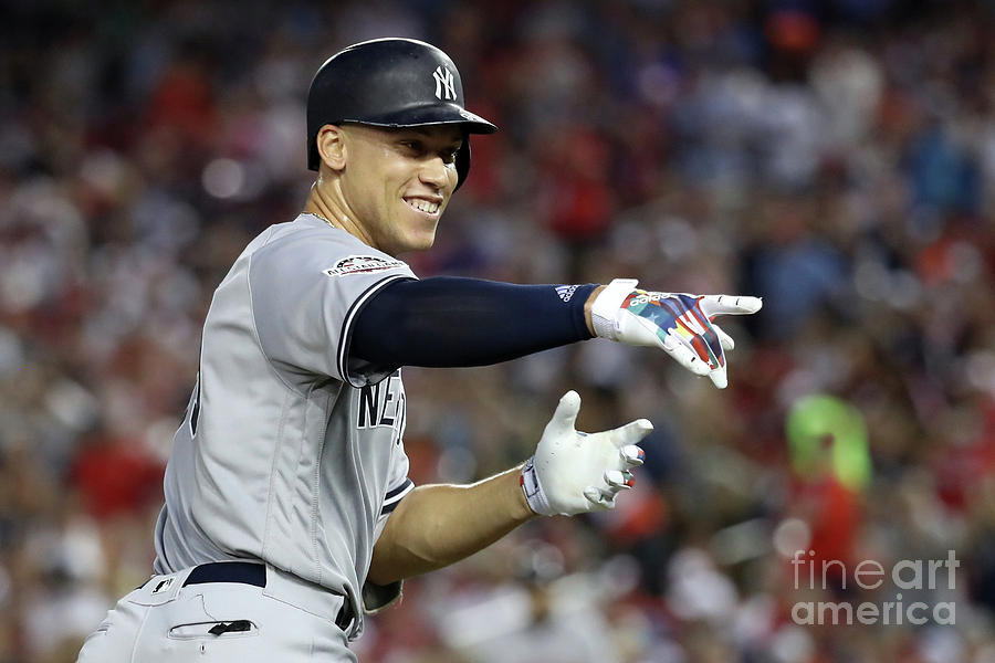 Aaron Judge Photograph by Rob Carr