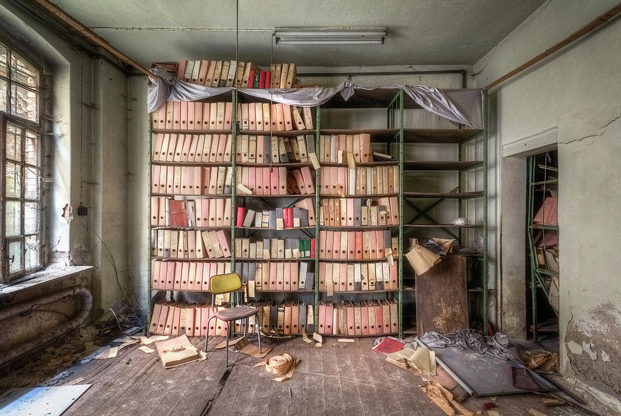 Abandoned Administration by Roman Robroek