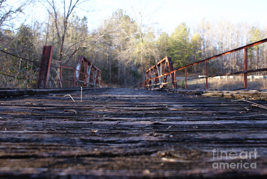 Abandoned America #13 - Lost Bridge Photograph