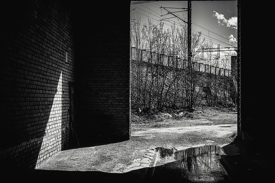 Dark Photograph - Abandoned and forgotten by Marko Hannula