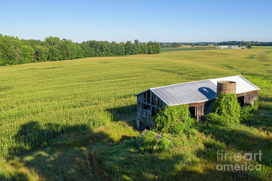 Abandoned Barn Photograph