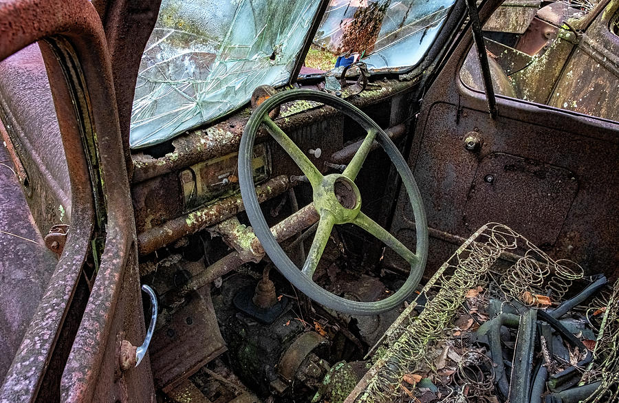 Abandoned Ford by Tom Singleton