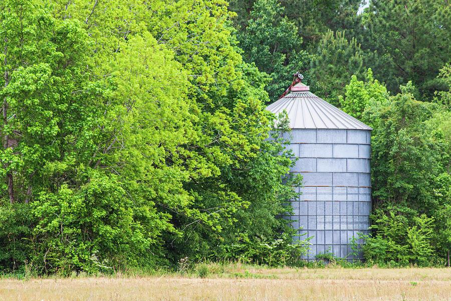 Abandoned Grain Bin - Eastern North Carolina Photograph