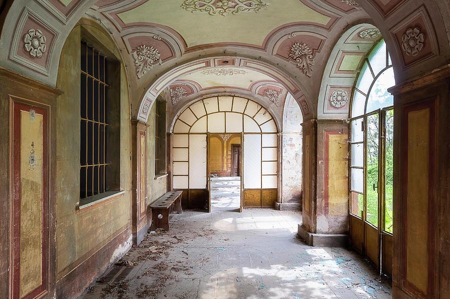 Abandoned Hallway by Roman Robroek