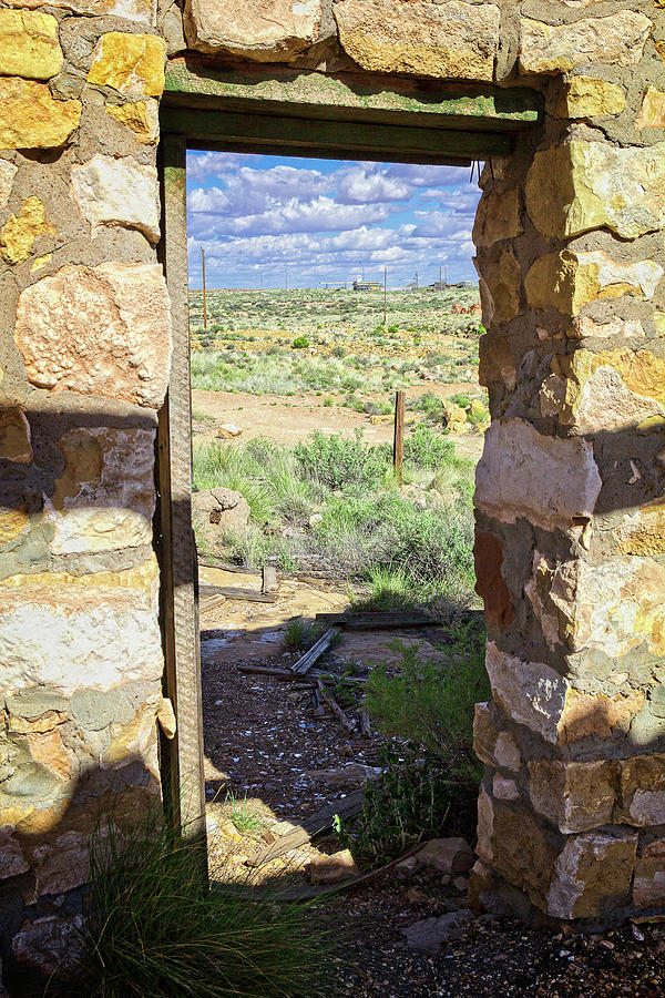 Arizona Photograph - Abandoned Landscape by Jack and Darnell Est
