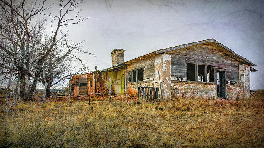 Abandoned Store Route 66 New Mexico by Joan Carroll
