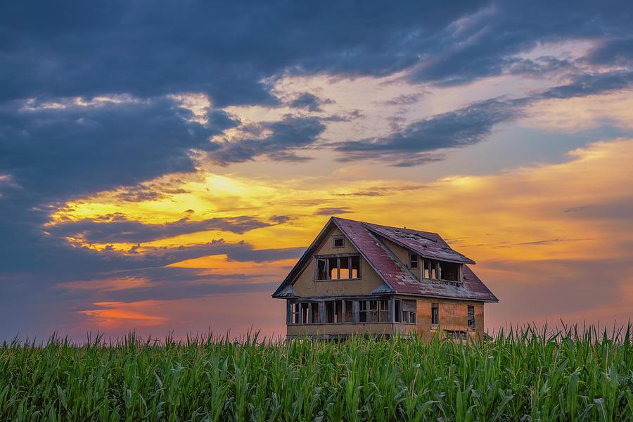 Abandoned Sunset Photograph
