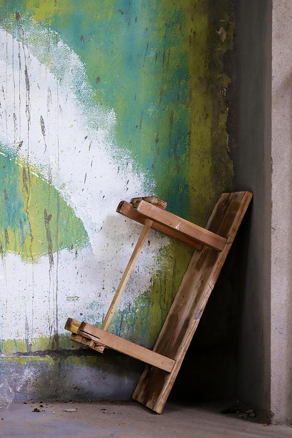 Minimalism Photograph - Abandoned Table by Prakash Ghai