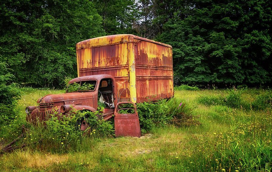 Abandoned Truck at Kestner Homesead by Carolyn Derstine