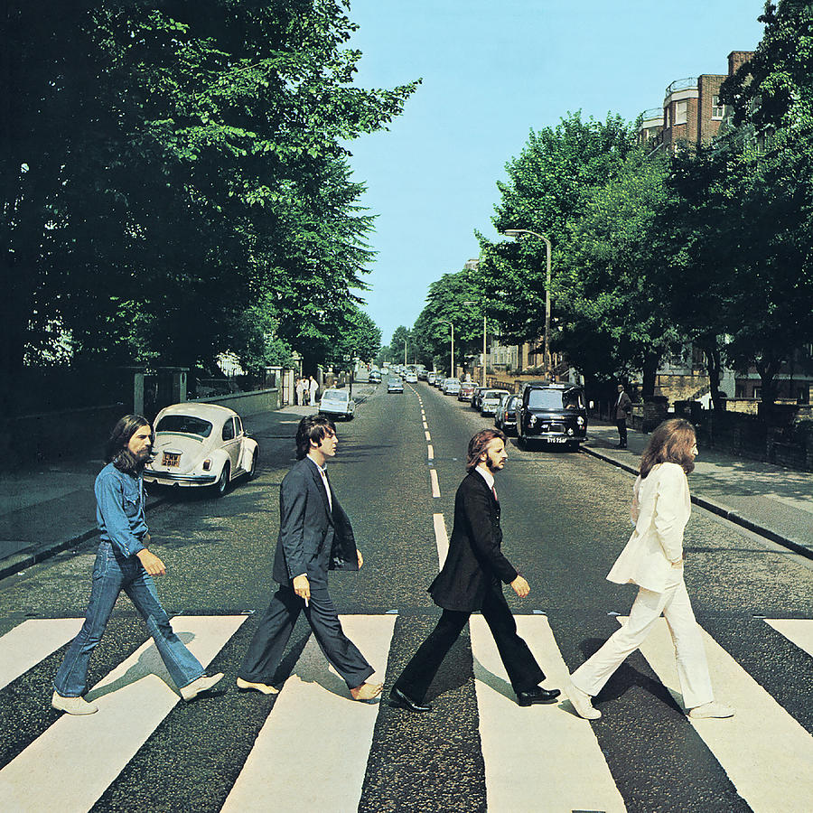Abbey Road Digital Art - Abbey Road Original Remastered by The Beatles by Music N Film Prints
