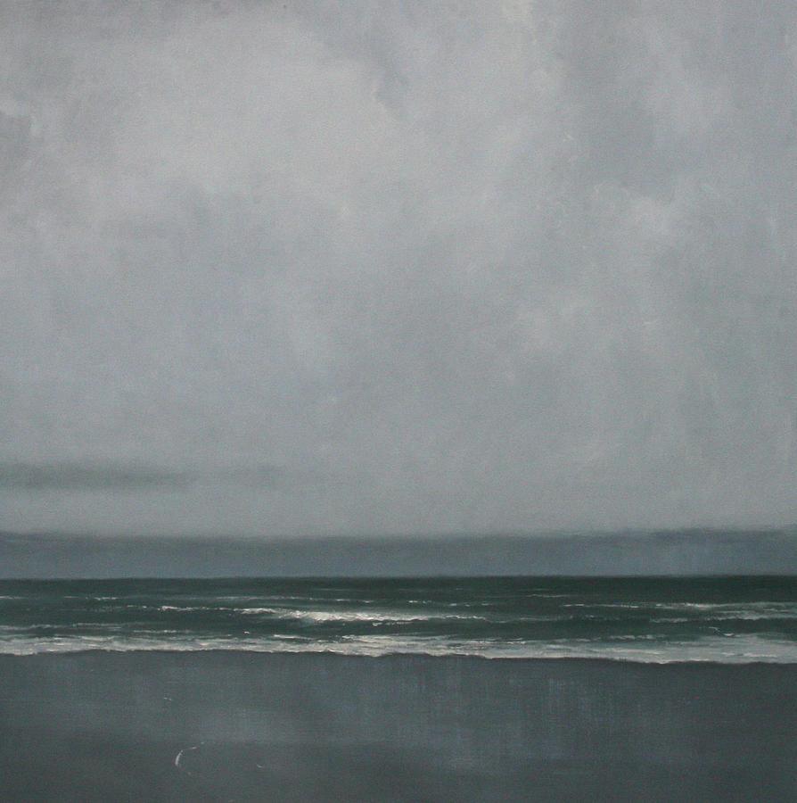 Abbotts Lagoon Painting by Mary Jo Van Dell