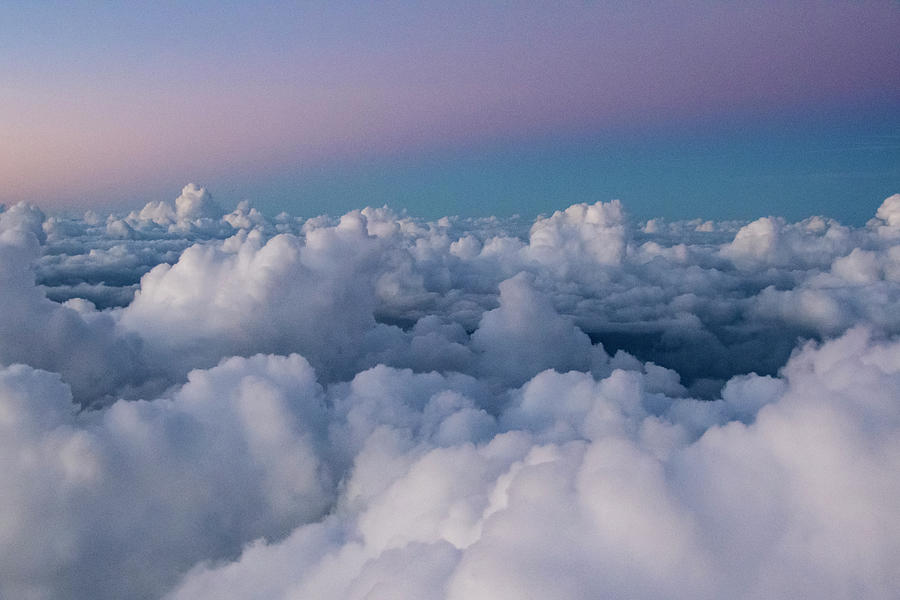 Clouds Photograph - Above the Clouds by Melissa Southern