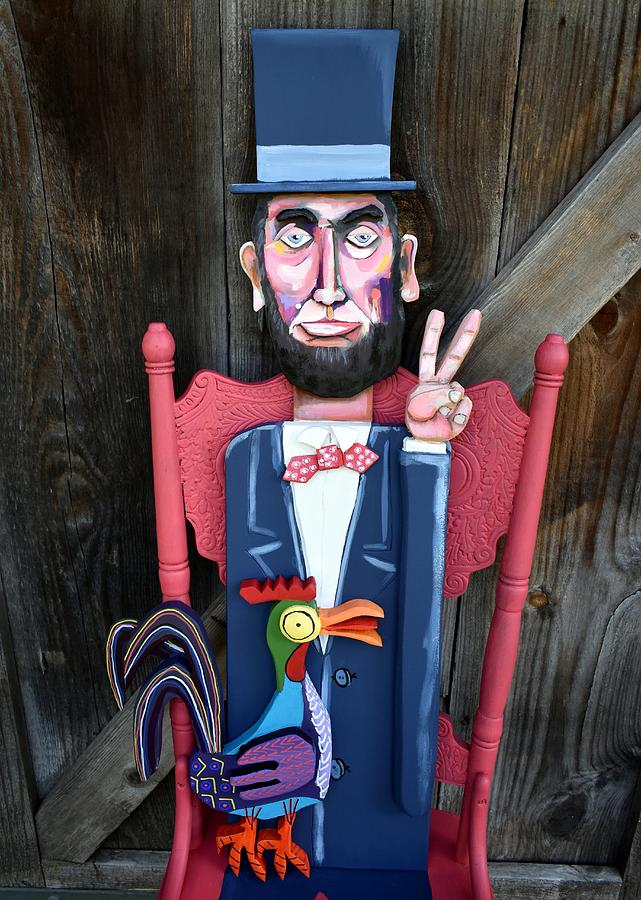 Abraham Lincoln Chair Painting