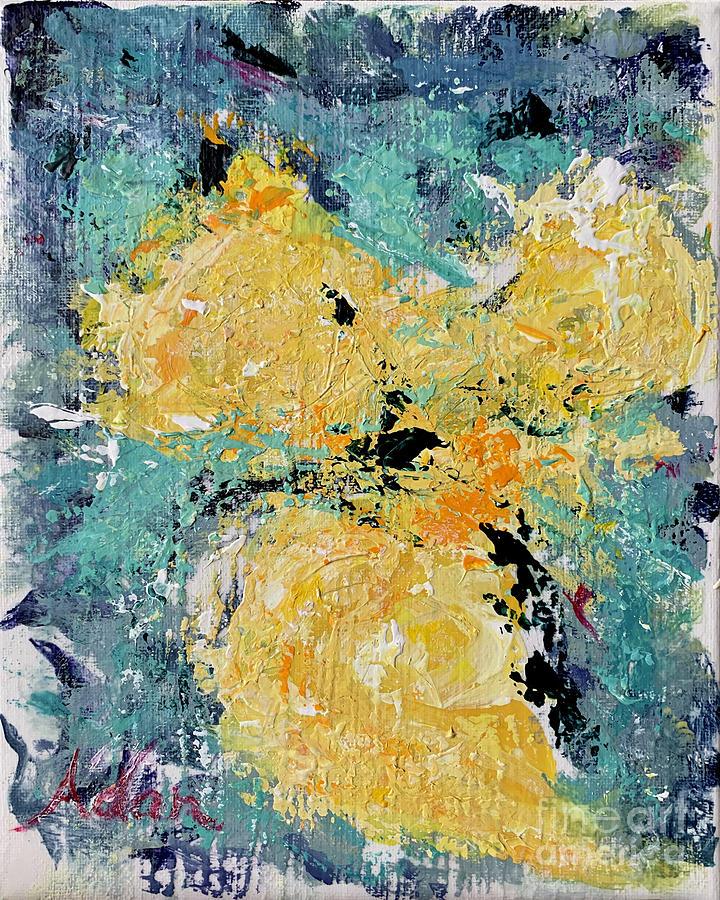 Watercolor Painting - Abstract 1 2020 by Felipe Adan Lerma