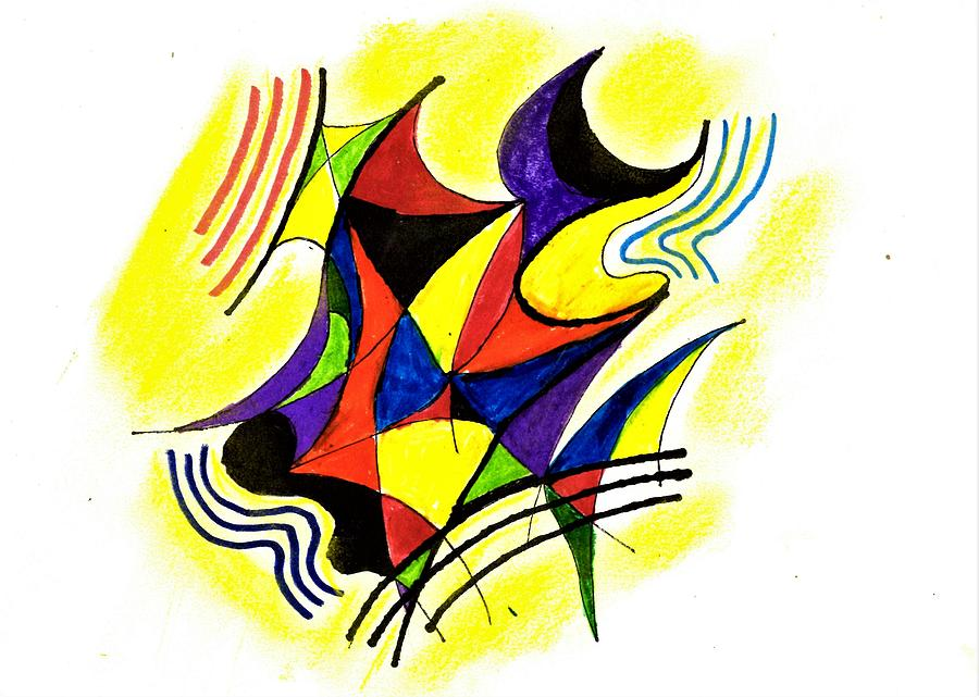 Abstract 102 Drawing