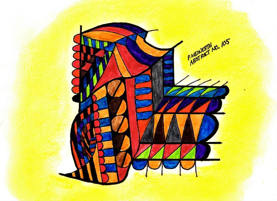 Abstract 105 Drawing