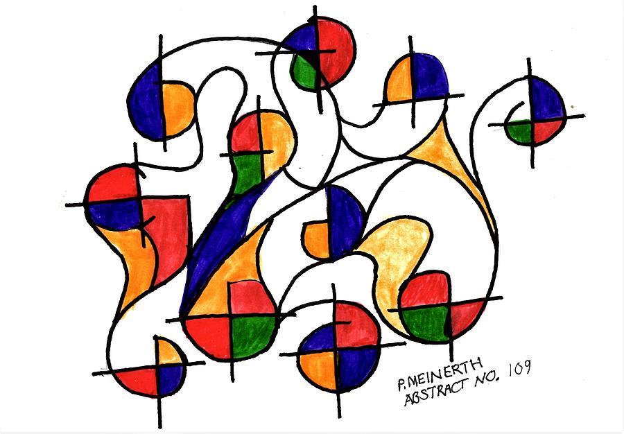 Abstract 109 Drawing