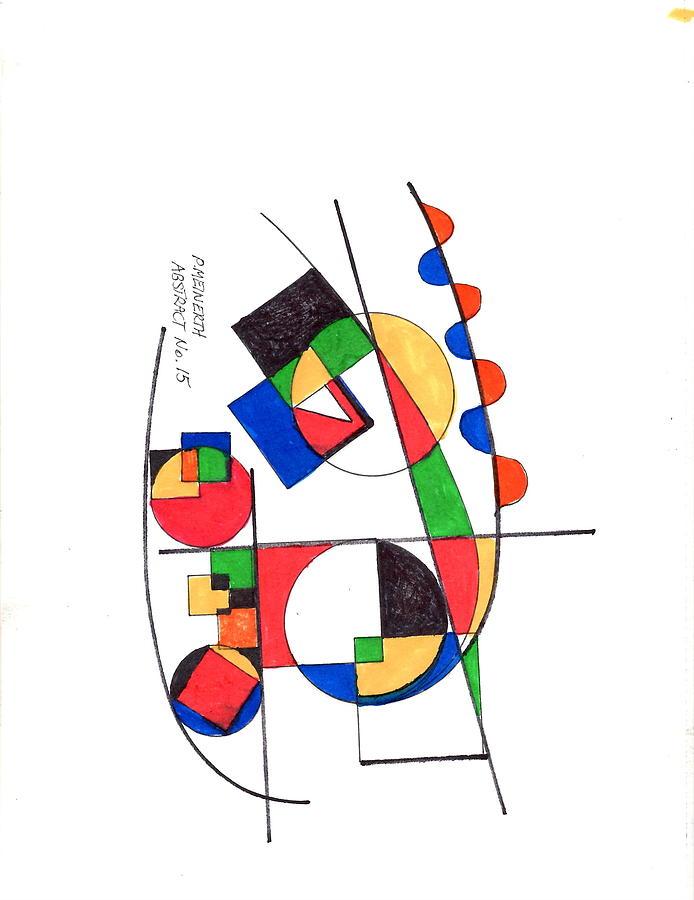Abstract 15 Drawing