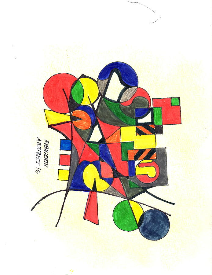 Abstract 16 Drawing