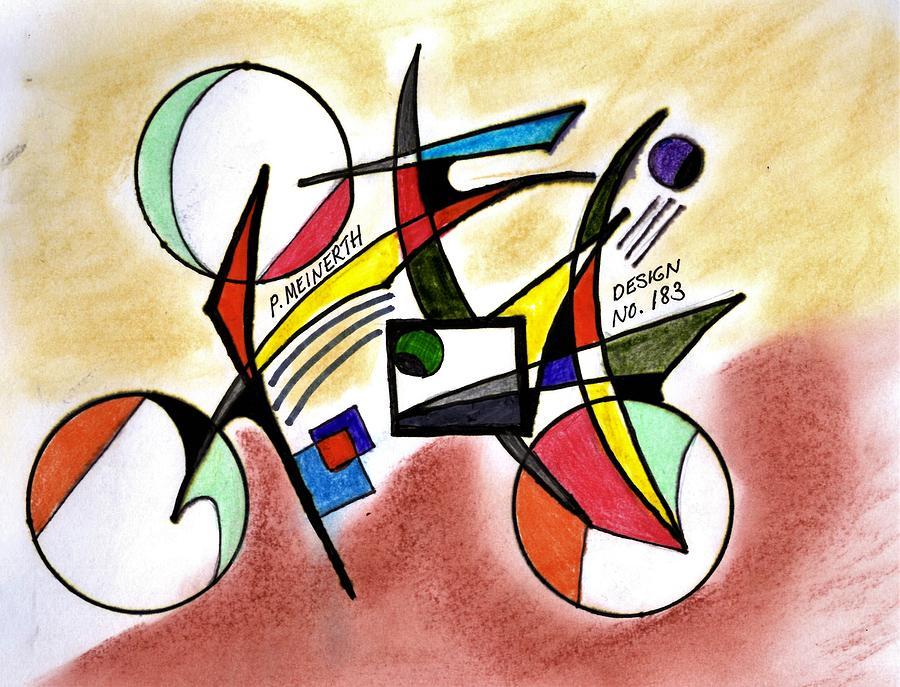 Abstract  183 Drawing