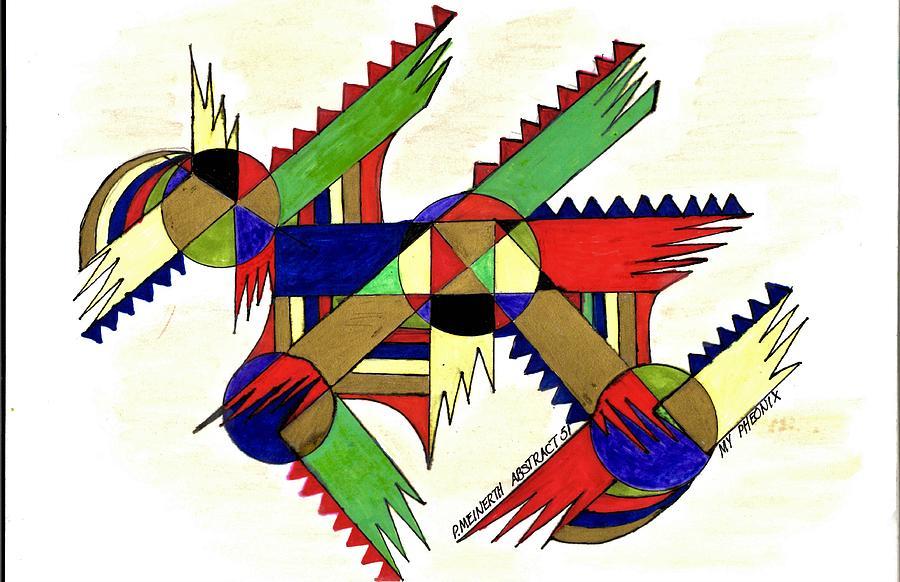 Abstract 51  My Pheonix Drawing