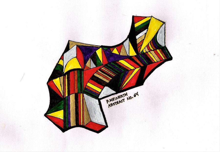 Abstract 64 Drawing