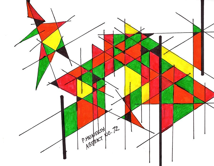 Abstract 72 Drawing