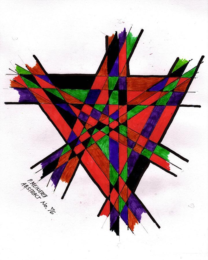 Abstract 76 Drawing