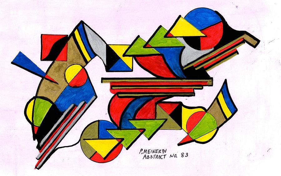 Abstract 83 Drawing