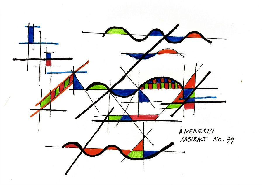 Abstract 99 Drawing