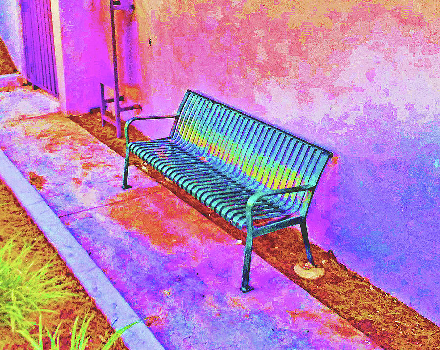 Abstract Bench by Andrew Lawrence