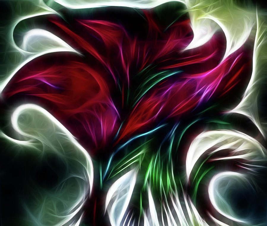 Abstract Bouquet by Melinda Firestone-White