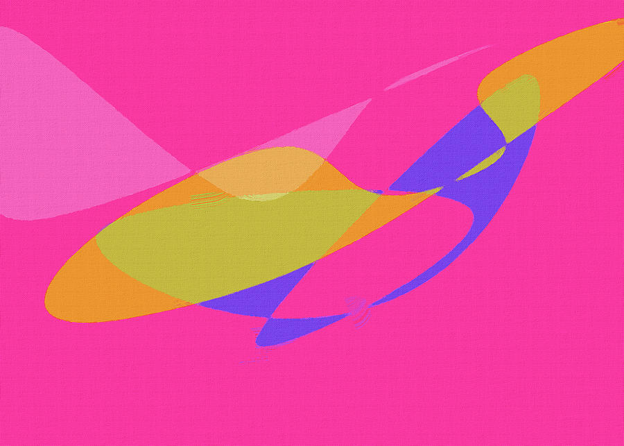 Abstract Color Composition No 1022 2021 By Ahmet Asar Digital Art