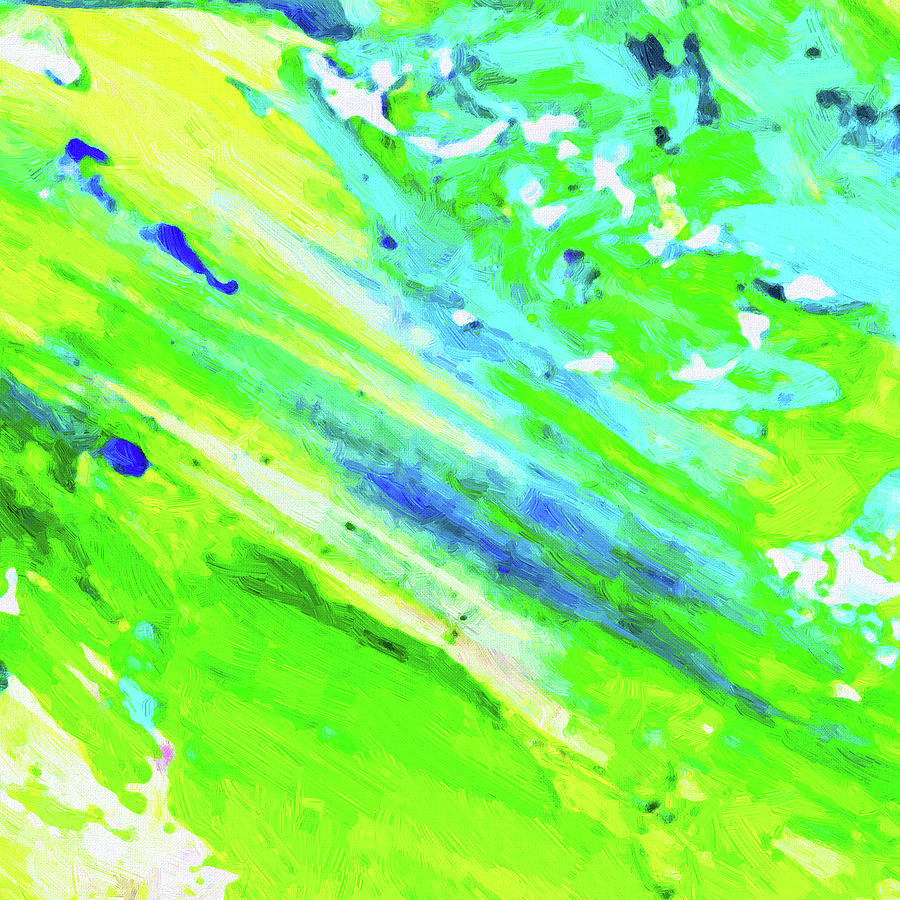 Abstract Color Composition No 802 2021 By Ahmet Asar Digital Art
