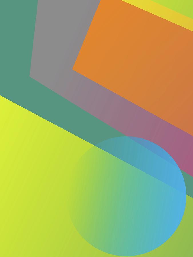 Abstract Colorful Gradient Pop Art 104 Digital Art