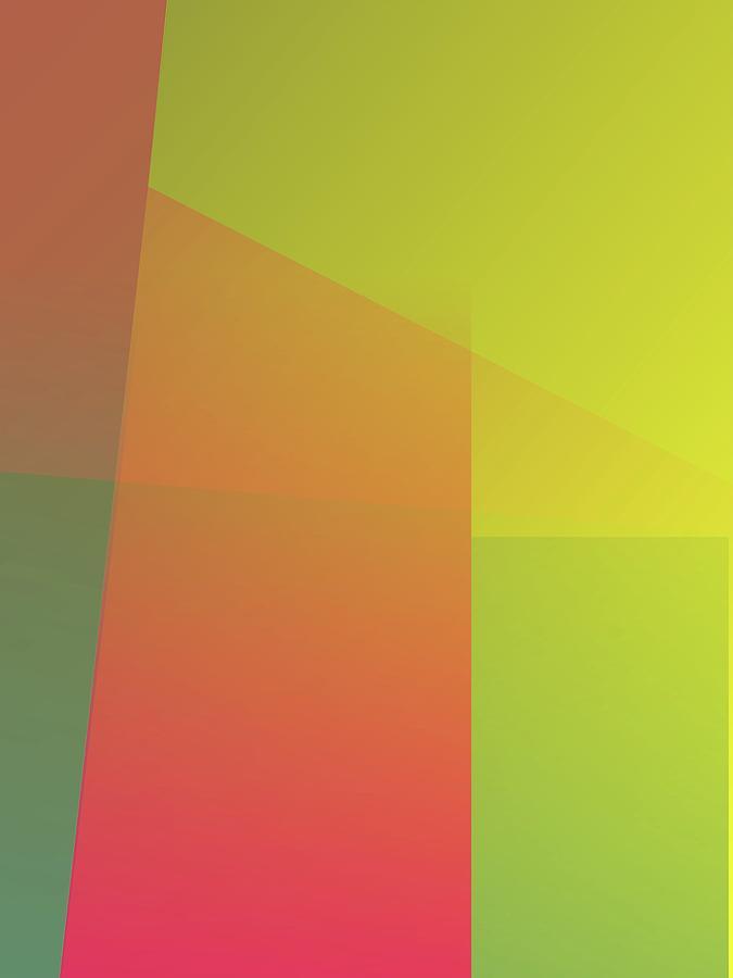 Abstract Colorful Gradient Pop Art 111 Digital Art