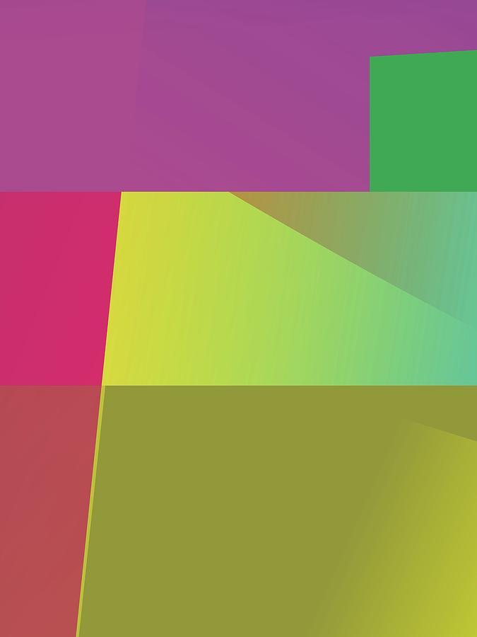 Abstract Colorful Gradient Pop Art 112 Digital Art