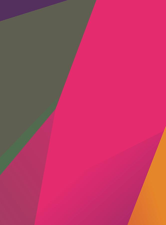 Abstract Colorful Gradient Pop Art 124 Digital Art