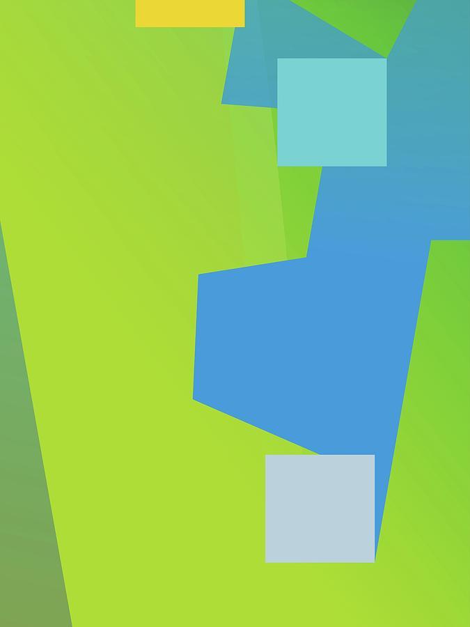 Abstract Colorful Gradient Pop Art 126 Digital Art