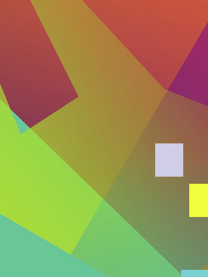 Abstract Colorful Gradient Pop Art 127 Digital Art