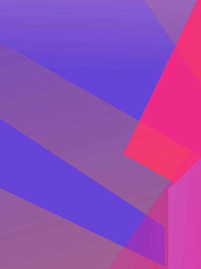 Abstract Colorful Gradient Pop Art 147 Digital Art