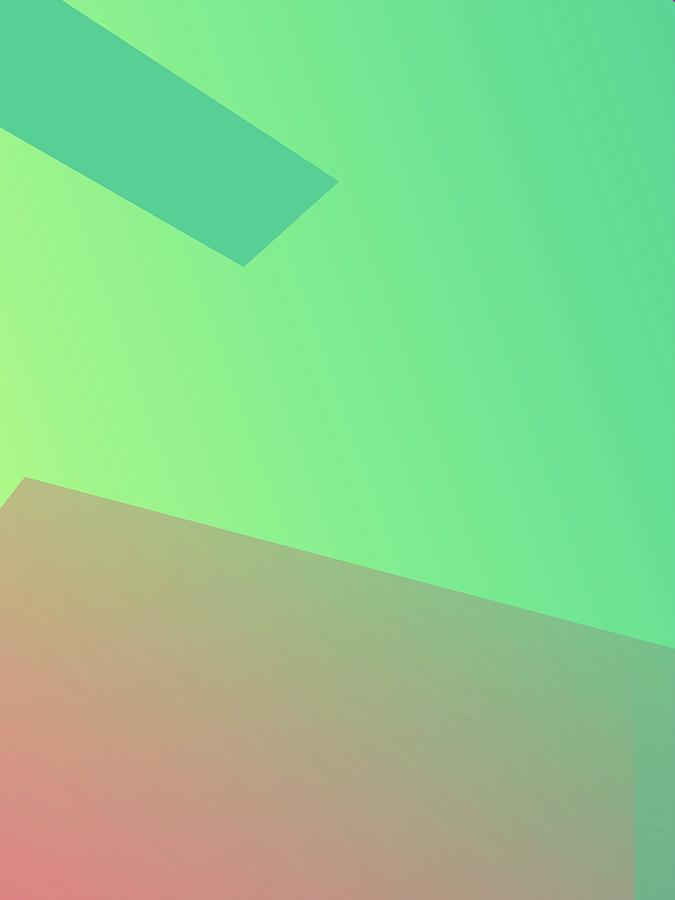 Abstract Colorful Gradient Pop Art 148 Digital Art