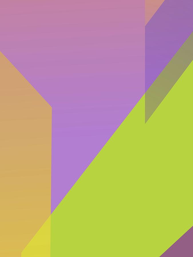 Abstract Colorful Gradient Pop Art 150 Digital Art