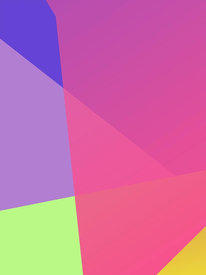 Abstract Colorful Gradient Pop Art 151 Digital Art